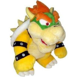 Super Mario Brothers Standing King Bowser Soft Stuffed Anima