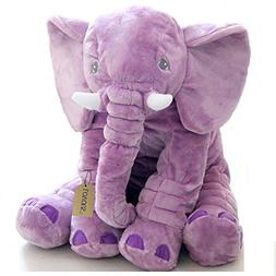 LOVOUS Super Soft Cute Big Stuffed Elephant Plush Doll, Baby