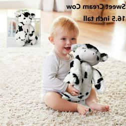 "Sweet Cream Cow 16.5"" Stuffed Plush Animal Farm Black & Whit"