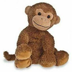 "Mary Meyer Sweet Rascals, Mattie Monkey, 9"" Stuffed Plush Br"