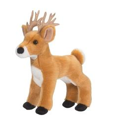 "Douglas Swift WHITE TAIL DEER 9"" Plush Buck Stuffed Animal C"