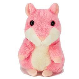AnyBack Talking Hamster Repeats What You Say, Plush Interact