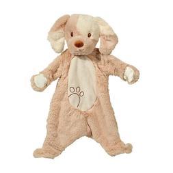 "TAN PUPPY DOG SSHLUMPIE BABY BLANKET - Douglas Toys - 19"" -"