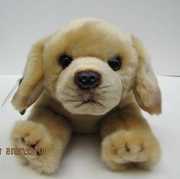 Bearington Tanner Yellow Labrador Retriever Plush Stuffed An