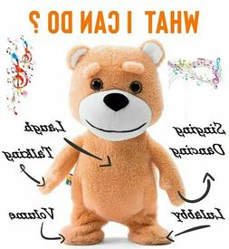 Teddy Bear - Dancing Talking Singing Stuffed Animal - Plush