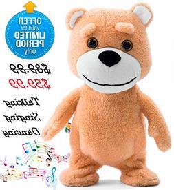 Naujova Teddy Bear - Dancing Talking Singing Stuffed Animal
