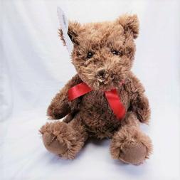 Teddy Bear Stuffed Animal Plush w/ Red Ribbon
