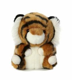 Terrific Tiger Rolly Pet 5 inch - Stuffed Animal by Aurora P