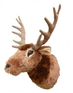 "ADORE 15"" Teton the Elk Stuffed Animal Plush Walltoy Wall Mo"