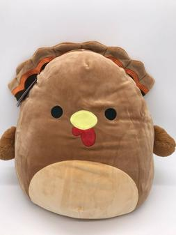Thanksgiving Squishmallow Turkey Plush Kelly Toy Terry 16 in