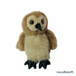 The Bearington Collection Baby Stuffed Owl Ollie