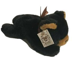 "The Bearington Collection Black Bear 9"" Long Stuffed Animal"