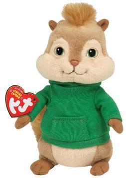 Ty Beanie Baby ~ THEODORE ~ Chipmunk from Alvin and the Chip