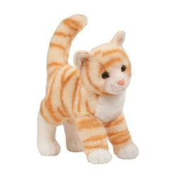 "Tiffy Orange Tabby Cat 10"" by Douglas Cuddle Toys"