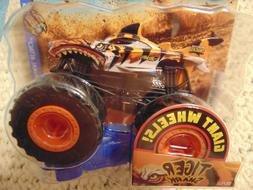 TIGER SHARK 2019 New Hot Wheels Monster Truck  with Giant Wh
