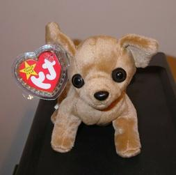 Ty Beanie Baby - TINY the Chihuahua Dog  MINT with MINT TAG