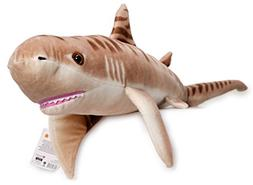 VIAHART Tito The Tiger Shark | 4 1/2 Foot Long Big Stuffed A