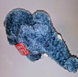 "GUND Tooter Blue Elephant NEW  12"" Plush Stuffed Animal"