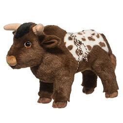 """TORNADO PBR BULL Douglas Cuddle 14"""" stuffed plush animal toy"""