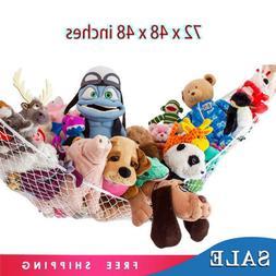Toy Hammock Net Organizer Corner Stuffed Animals Kids Wall H