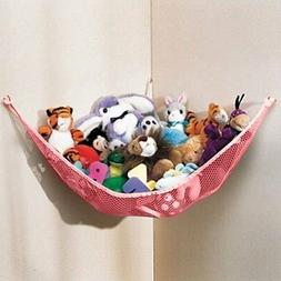 Toy Hammock Storage Hanging Jumbo Net Stuffed Animals Kids O