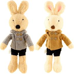 JIARU Toys Easter Bunny Plush Stuffed Animals Rabbits with R