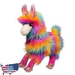 Douglas Toys Lollipop Llamacorn Rainbow Fuzzle Stuffed Anima