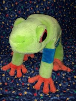 "Wild Republic TREE FROG 11"" Plush Stuffed Animal Toy"