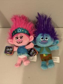 Trolls World Tour Poppy & Branch Plush Doll Stuffed Animal S