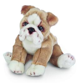 Bearington Tug Bulldog Plush Stuffed Animal Puppy Dog 13""