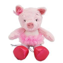 Nat and Jules Twirling Tutus Plush Toy, Pig Priscilla