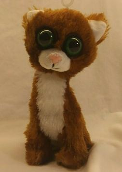"Twisted Whiskers 8"" Brown Cat Plush Toy Stuffed Animal Ameri"