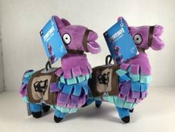 "Two NEW 8"" Russ Fortnite Loot Llama Plush Stuffed Animal Zag"