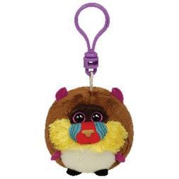 Ty Beanie Ballz Charlie - Baboon Clip