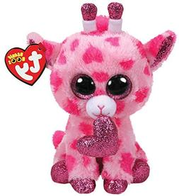 "2019 Valentine TY Beanie Boos 6"" SWEETUMS The Giraffe Plush"