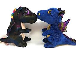 TY beanie boos set of 2, Saffire the dragon and Anora the dr
