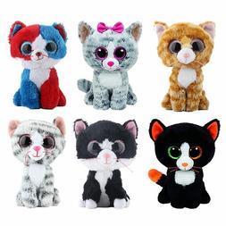 Ty Beanie Boos Stuffed & Plush Animals Black Cat Doll Toys f