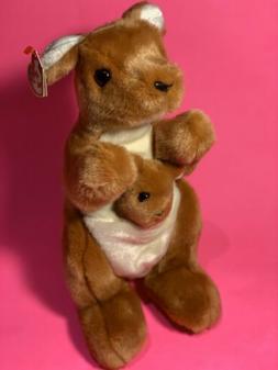 Ty Beanie Buddy POUCH - the Kangaroo
