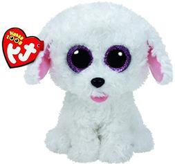 New TY Beanie Boos Cute PIPPIE the White Bichon Dog Plush To