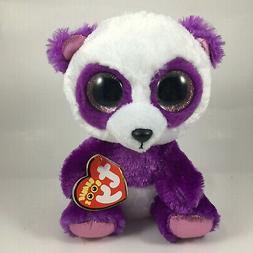 Ty Beanie Boos ~ BOOM BOOM the Panda Bear  NEW MWMT