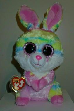 """Ty Beanie Boos - LOLLIPOP the 9"""" Medium Buddy Bunny ~ NEW 20"""