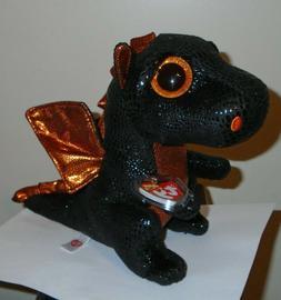 Ty Beanie Boos Buddy - MERLIN the Dragon  MWMT