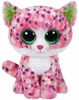 "Ty Beanie Boos ~ SOPHIE the 6"" Cat Stuffed Plush Toy  2015 D"