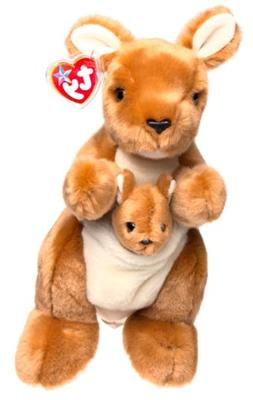 Ty Beanie Buddy Pouch the Kangaroo