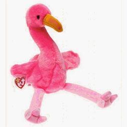 TY Beanie Buddy - PINKY the Pink Flamingo