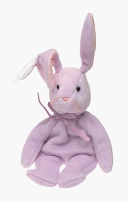 Ty Beanie Babies Floppity - Bunny Purple