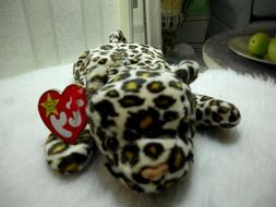 TY FRECKLES the LEOPARD BEANIE BABY - MINT with MINT TAGS