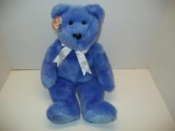 TY LARGE STUFFED ANIMALS / BEAR / 1999 / CLUBBY BEAR #2 / MI