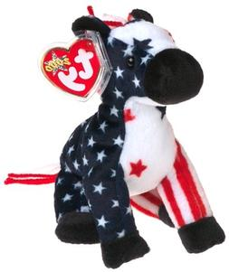 Ty Beanie Babies - Lefty 2000 - Retired