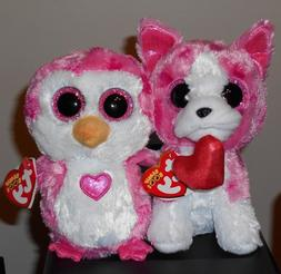 Ty Valentine Beanie Boos - ROMEO  & JULIET  NEW MWMTS